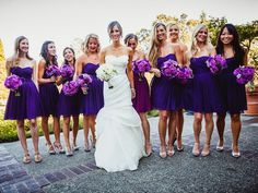 purple bridesmaids dresses 2014 - Google Search