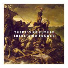 "modern-vampires-of-art-history: ""Théodore Géricault, Raft of the Medusa (1819) / Vampire Weekend, Hannah Hunt (2013) """