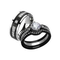 Titanium Jewelry, Titanium Wedding Rings, Custom Wedding Rings, Matching Wedding Bands, Wedding Ring Bands, Gothic Wedding Rings, Wedding Unique, Gothic Rings, Gothic Jewelry