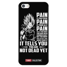 Super Saiyan Majin Vegeta Pain iPhone 5, 5s, 6, 6s, 6 plus, 6s plus phone case - TL00437PC-BLACK