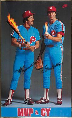 Mike Schmidt and Steve Carlton, 1980.