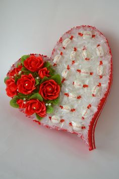 Hey, I found this really awesome Etsy listing at https://www.etsy.com/listing/256976584/heart-candy-white-and-red-heart