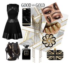 """""""Untitled #115"""" by shirleyarrington on Polyvore featuring Dsquared2, Alexander McQueen, David Koma and Haute Hippie"""