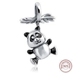 Hanging Panda Dangle Charm
