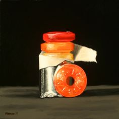 A Painting A Day: Miniature Masterpieces - Small original oil paintings by Darren Maurer