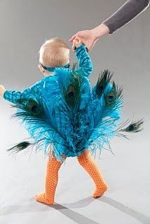 Perfect for Emi for Halloween!   http://creativelychristy.blogspot.com/2011/08/peacock-costume-how-to_02.html