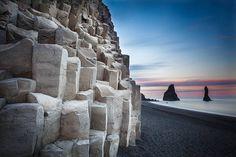 Reynisdrangar & Basalt Columns [Explore #9] by gummio, via Flickr