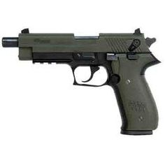 """SIG Sauer Mosquito Semi-Automatic Handgun .22 Long Rifle 4.9"""" Threaded Barrel 10 Rounds OD Polymer Grips 2 Tone FinishFind our speedloader now!  http://www.amazon.com/shops/raeind"""