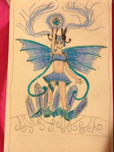 My o.c radiance is the queen of music and ice. She has ice magic and can sing really well. Her ice magic is strong, but her music magic is stronger. She can control the emotions of people who hear her singing. She's actually a human version of a fake ice type form of meloetta (my favorite Pokemon)
