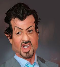 Sylvester Stallone by OnMyOwnStudios