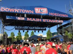 The annual Downtown Hoedown is one of the largest country music festivals in the US.    #visitdetroit