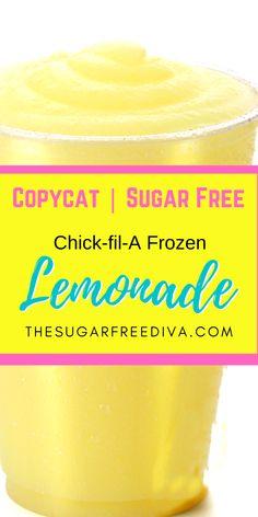 Diabetic Desserts, Sugar Free Desserts, Sugar Free Recipes, Low Carb Desserts, Frozen Desserts, Diabetic Recipes, Low Carb Recipes, Dessert Recipes, Frozen Lemonade