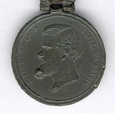 Medalha de |Monte Caseros - frente
