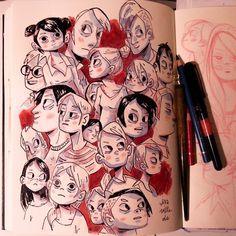 DoodleingIra Sluyterman van Langeweyde - @iraville