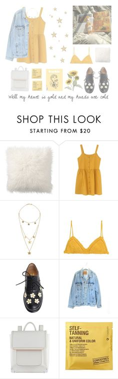 """""""Low On Self Esteem"""" by xdarkparadise ❤ liked on Polyvore featuring Pottery Barn, Made, SHE MADE ME, Levi's, ALDO, Comodynes and Pier 1 Imports"""