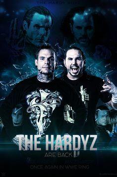 The Hardy Boyz - Jeff Hardy / Matt Hardy.  By: DevianArt  http://www.deviantart.com