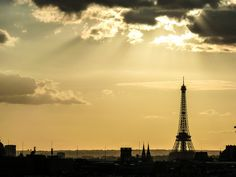 Sunset on Tour Eiffel / Sep.