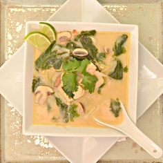Chicken Recipes Thai Chicken Coconut Soup recipe