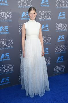 Rosamund Pike in Valentino Couture - a little bit of inspo for your Big Day Dress