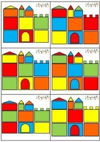 chateau-espace-v22f Preschool Learning Activities, Play Based Learning, Learning Through Play, Things That Go Together, Aesthetic Template, Exercise For Kids, Kids Workout, Math For Kids, Card Patterns