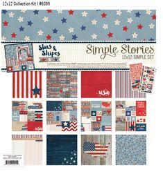 Stars & Stripes Simple Set