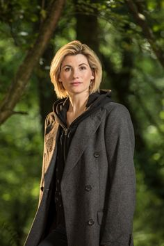 Jodie Whittaker as the 13th Doctor