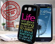 Life Quotes - design case for samsung galaxy s3