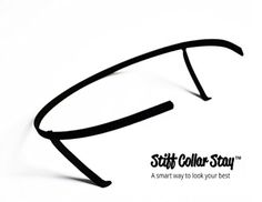 Collar stays - Stiff Collar Stay - 2 pcs (19.5 & 20) - Brought to you by Avarsha.com