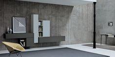 Appendo wall system by Sangiacomo