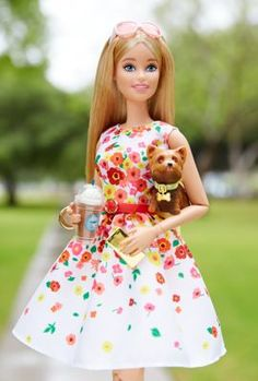 c26ad4cf6 The Barbie Look™ Barbie® Doll - Park Pretty | The Barbie Collection Mattel  Barbie