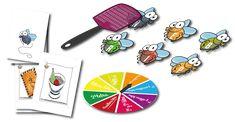 Logopedia dinámica y divertida : el matamoscas