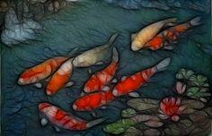 Koi fish Artistic HD desktop wallpaper, Fish wallpaper, Koi wallpaper - Artistic no. Live Fish Wallpaper, Mobile Wallpaper, 2560x1440 Wallpaper, Free Live Wallpapers, Live Picture, Fish Ponds, Paint Background, Beautiful Fish, Sculpture