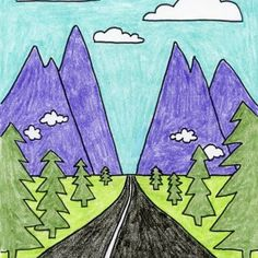 Draw a Vanishing Point Road