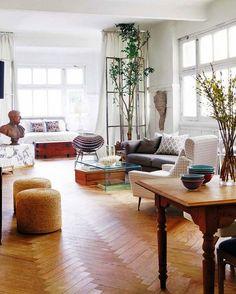 Inspiration for a studio apartment.