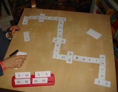 Mário e Omelete: Dominó de números romanos