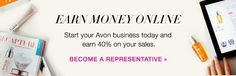 """Start your own business for just $25 with Avon and get a free gift from me! Go to: www.youravon.com/lorihoward and click on """"Sell Avon"""" to sign up! #business #independent #entrepreneur #avonrep"""