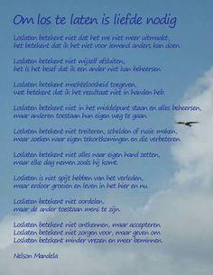 Loslaten - Nelson Mandela