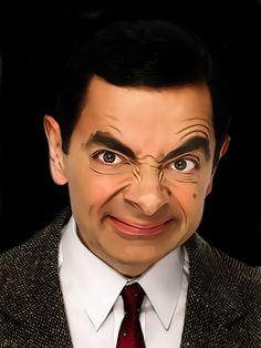 Mr. Bean. Rowan Atkinson