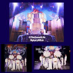 Absolutely gorgeous wedding cake! #clubXLIVbride  #nolawedding    New Orleans wedding magazine photo shoot at house of blues . Wedding cake by The Sweet Life Bakery New Orleans www.nolasweetlife.com email info@nolasweetlife.com (504)371-5153 #nolasweetlife @nolasweetlife #70124 #nola