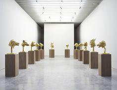 Ai WeiWei -Circle of Animals / Zodiac Heads: Gold, November 17 - December 23, 2011