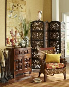 combine detailed furniture pieces for cozy yet exotic style african style furniture