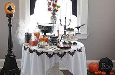 Halloween decorations : IDEAS &INSPIRATIONS  Halloween Party Spooky Celebration