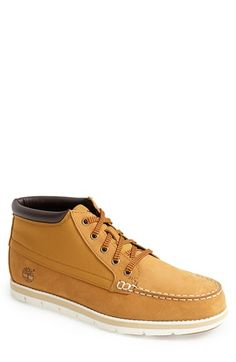 Timberland Earthkeepers® 'Harborside' Moc Toe Boot (Men) available at #Nordstrom