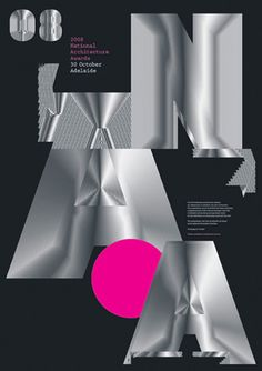 architecture awards poster by toko
