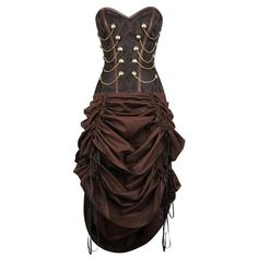 VG-19250 - Steampunk Corset Dress