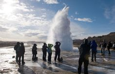 "Lost in nature: the complete guide to your 10-day Iceland road trip!  The ultimate Iceland road trip: discover volcanoes, glaciers, waterfalls and picturesque villages on this 10-day itinerary around the entire country.  This spectacle of erupting boiling water is perhaps Iceland as most imagine it. There are two geysers, Geysir and Strokkur, but the ""shows"" are provided mostly by the latter. You can get close to it, but be advised that the sulphurous stench will be difficult to stand."