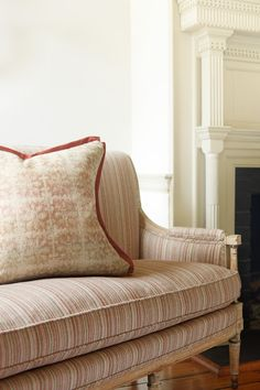 Hodsoll McKenzie by Zimmer & Rohde | Dessin: Manchester Stripe, Coddington, Bromley | #Stoff #fabric #Kissen #pillow #Vorhang #curtain #Bezugsstoff #upholstery