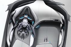 Ford EVOS concept dash