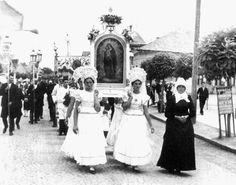 Mária lányok a búcsún 1920-as évek