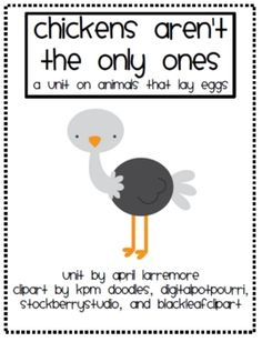 Wills Kindergarten: Lesson Plans for Next Week Oviparous Animals.Some Freebies! Kindergarten Lesson Plans, Kindergarten Science, Teaching Science, Science Experiments, Life Science, Hatching Chickens, Baby Chickens, End Of The Week, Literacy Stations